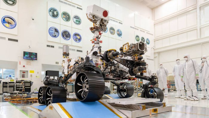 Mars 2020 rover. (Photo credit: NASA twitter)