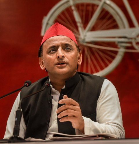 The SP president allegedly called the doctor a ''BJP/RSS man'' and asked him to go away, when the latter tried to apprise him about the condition of the patients and the compensation paid to them.