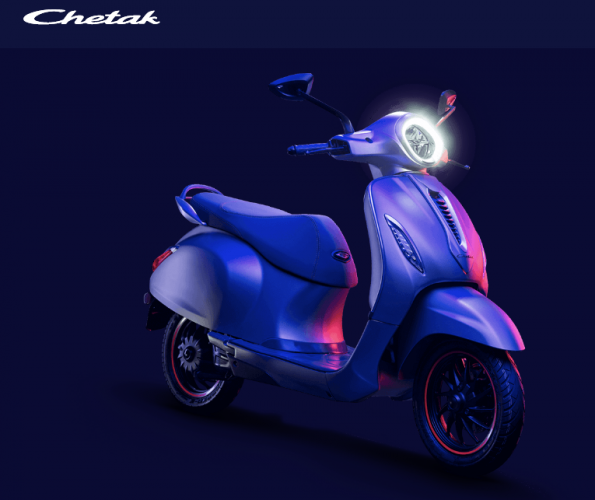 The most significant feature of the scooter is the keyless ignition, accordingto reports. (Image: Bajaj Chetak website)