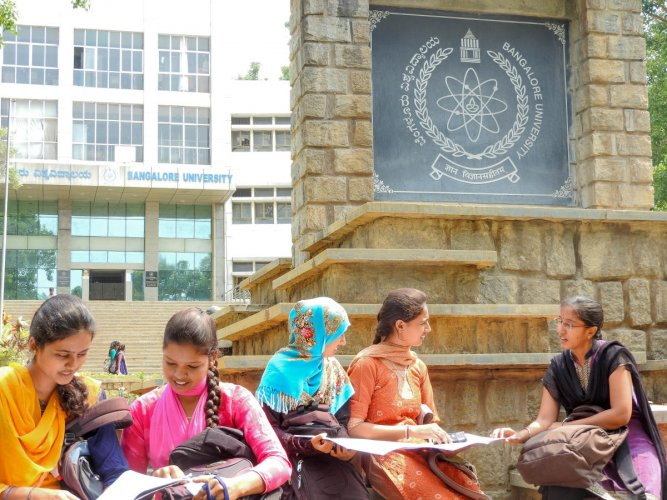 Bangalore University had not met the conditions set forth by the UGC for the distance education courses. DH file photo