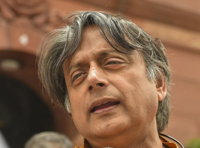 """""""Mr Kejriwal really wants power without responsibility, which we all know has been the prerogative of eunuchs for ages,"""" Tharoor had earlier said. (PTI Photo)"""