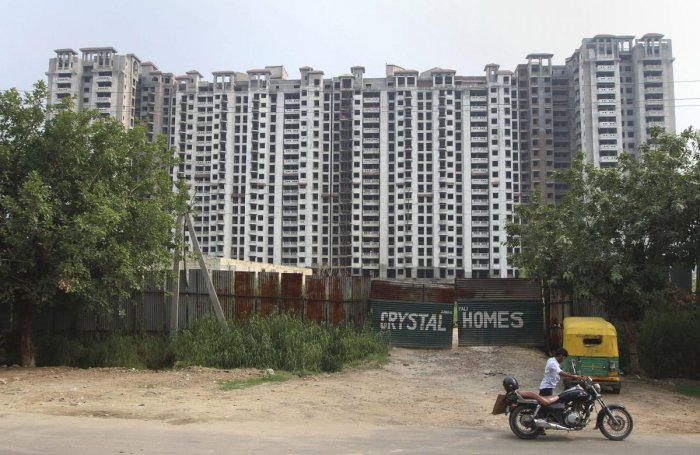 Residential property sales fell down by 13 percent for the first time in 9 months amid the ongoing economic slowdown. (PTI Photo)