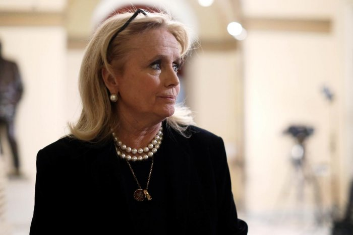 U.S. Rep. Debbie Dingell (D-MI) is seen in a hallway of the U.S. Capitol prior to an event at the Rayburn Room December 19, 2019 in Washington, DC. (Photo by AFP)