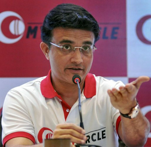 """""""It was tougher playing under pressure because it was one chance while batting, that was a lot difficult"""", said Ganguly answering why batting was a tougher job. (PTI Photo)"""