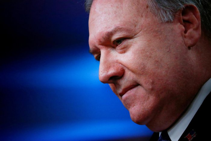 Pompeo -- who shared the stage with a predecessor, Condoleezza Rice -- said he spoke to leaders of all backgrounds in Iraq including the Shiite majority, which enjoys religious ties with Iran.