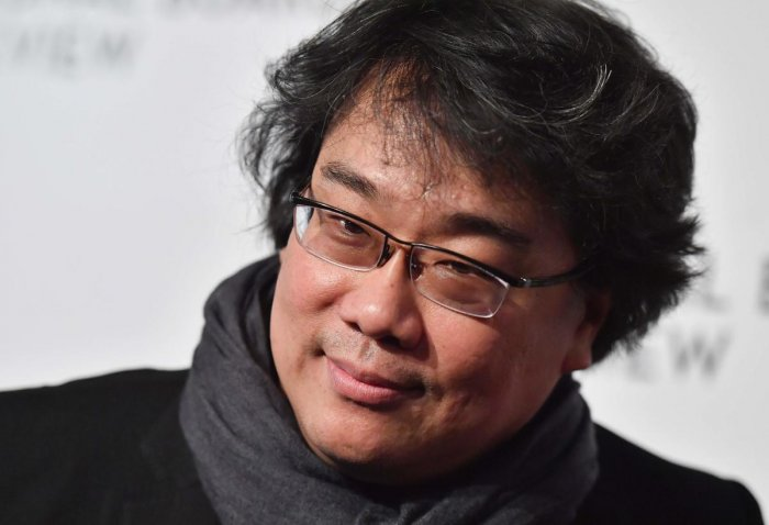 """""""Every time they announced the new nominations, it was so thrilling, because we didn't really anticipate any of this,"""" Bong said, referring to nominations garnered by his movie 'Parasite'. (AFP Photo)"""
