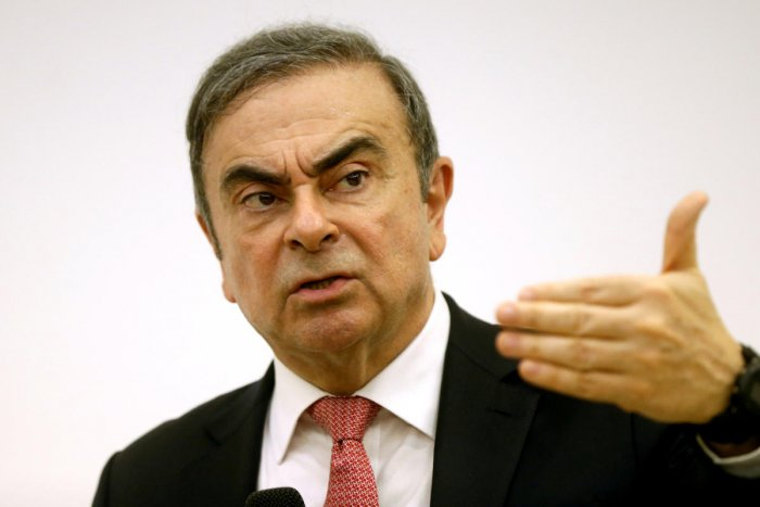 Former Nissan chairman Carlos Ghosn (Reuters Photo)