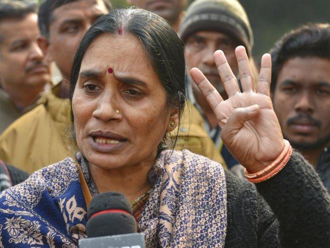 Nirbhaya case victim's mother. (PTI Photo)