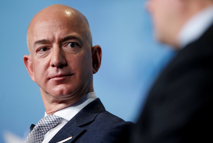 """Asked what he would have done if things hadn't worked out, Bezos said: """"I would be an extremely happy software programmer somewhere"""". (Reuters Photo)"""