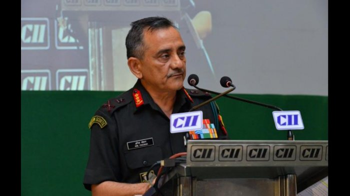 Eastern Command chief Lt Gen Anil Chauhan said the Army has done a few exercises to validate the concept of IBGs as to what should be the organisation and structure of it, which the 17 Corps, the country's first Mountain Strike Corps, performed. Credit: Twitter (@CIIevents)