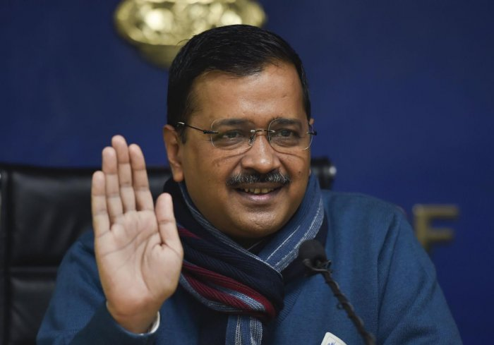 The Aam Aadmi Party has dropped 15 sitting MLAs from its list of 70 candidates and given ticket to a total of 24 first-timers. (PTI Photo)