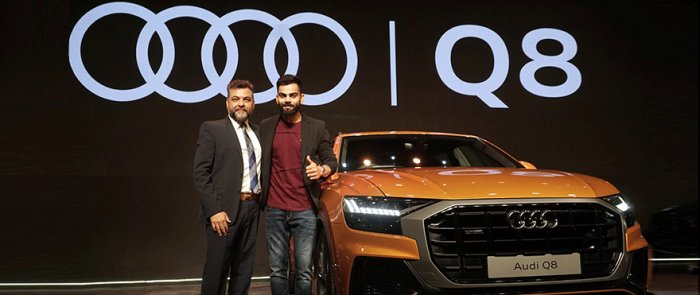 """""""The Q8 will be imported to India as fully built units and there will be only 200 units on offer,"""" said the head of Audi India (Audi India)"""