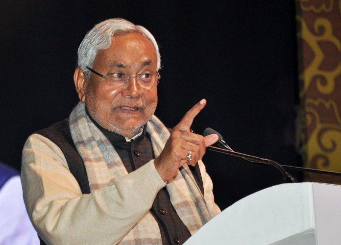 Bihar Chief Minister Nitish Kumar. (PTI photo)