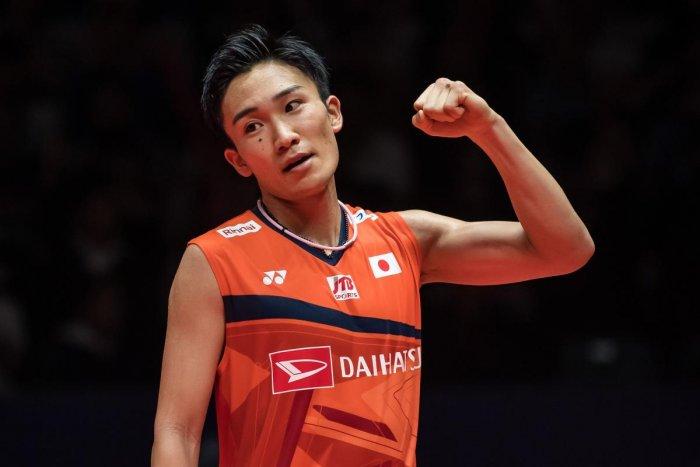 Badminton world number one Kento Momota (AFP Photo)