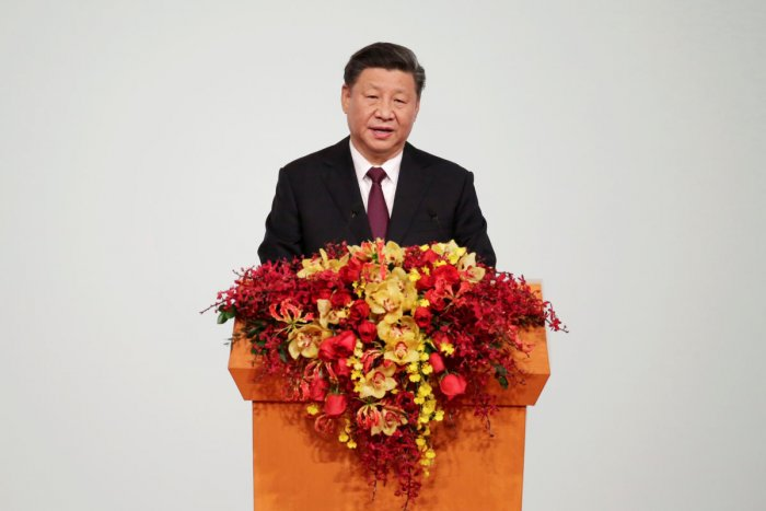 Chinese President Xi Jinping speaks at a ceremony to inaugurate the fifth-term government of Macau Special Administrative Region. (REUTERS photo)