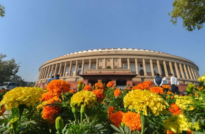 While the first leg of Budget Session will be held from January 31 to February 11, the second leg will start from March 2 and ends on April 3. Credit: PTI