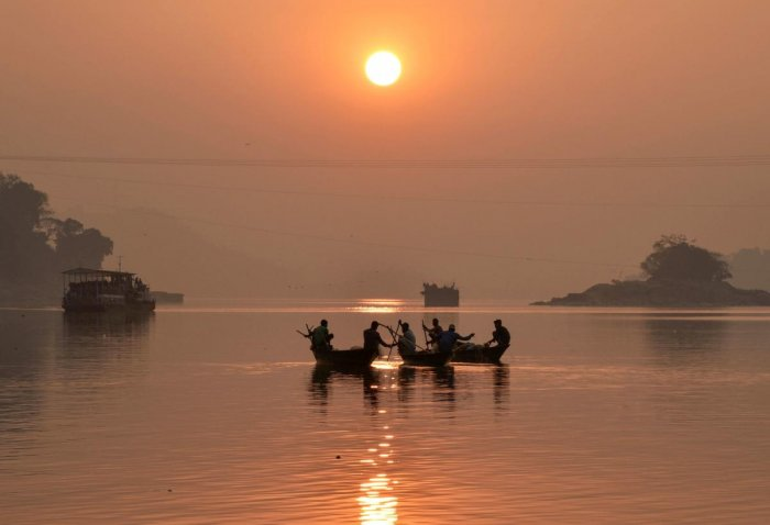 Assam has the largest network of navigable waterways in India. (AFP Photo)