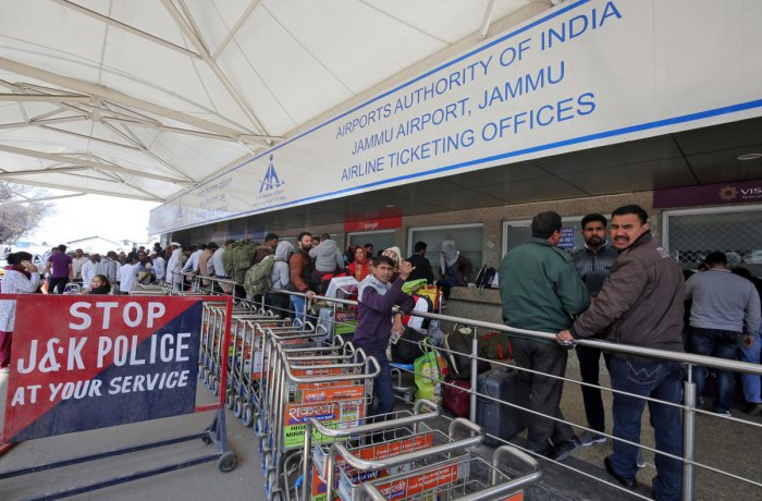 CISF is the national civil aviation security force and at present it guards 61 airports including the ones at Delhi and Mumbai. (Reuters photo)