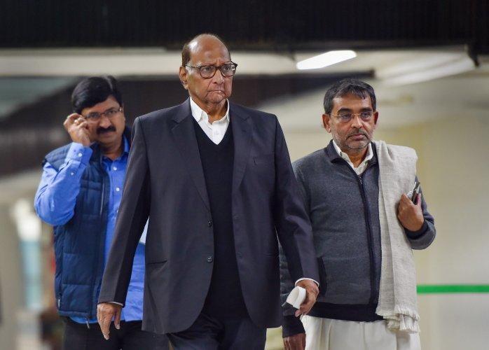 NCP supremo Sharad Pawar. (PTI Photo)