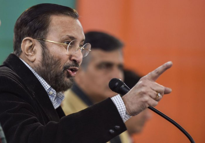 Javadekar claimed that the Modi government was committed to deliver justice to the victims of the 1984 riots in which 3000 Sikhs were burnt alive and their houses looted. (PTI Photo)
