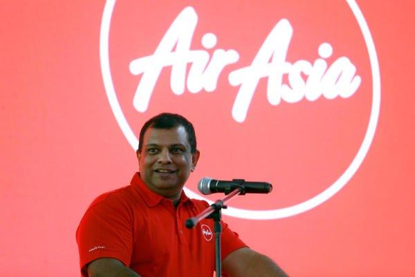 AirAsia CEO Tony Fernandes. (Reuters Photo)