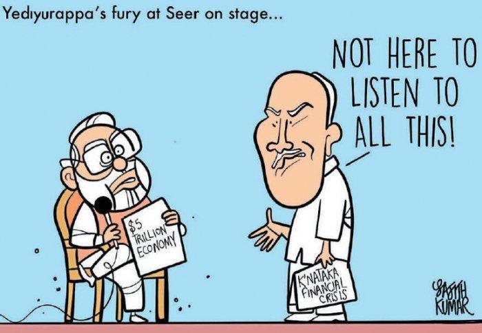 Karnataka CM BS Yediyurappa's conundrum