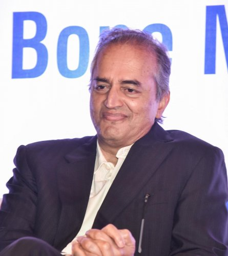 Dr Devi Shetty, Chairman and Executive Director, Narayana Health in Bengaluru on Wednesday. Photo by S K Dinesh