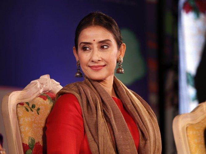 Manisha Koirala will team up with Naseeruddin Shah for Freedom. (Credit: PTI photo)
