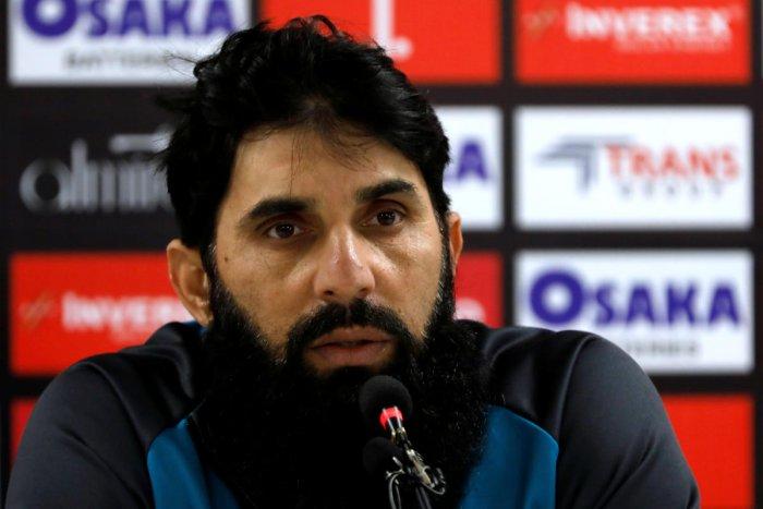 Pakistan head coach and chief selector Misbah-ul-Haq. Reuters Photo