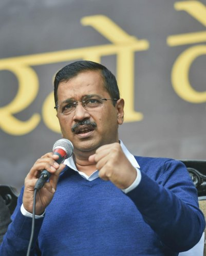 """""""Due to the Code of Conduct, there cannot be new announcements about Delhi. But I appeal to the Centre to make announcements for Delhi in the coming budget on pollution, sewer, transport etc. Development of Delhi should not stop because of the election,"""" he said."""