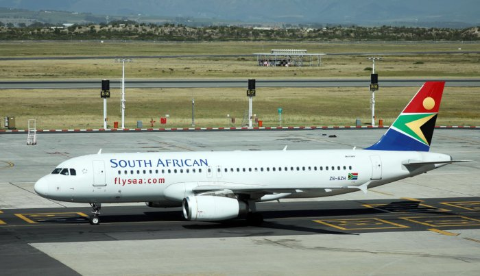 South African Airways had operated flights between Johannesburg and Mumbai, but currently, there is no direct flight between India and South Africa. (Reuters Photo)