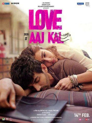 Love Aaj Kal first look. (Photo credit: Twitter/@taran_adarsh)
