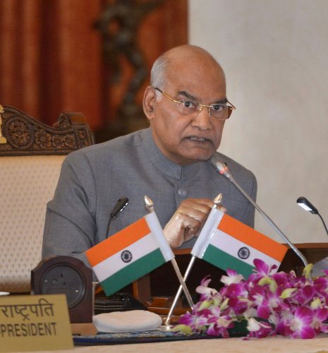 President Ram Nath Kovind. (PTI Photo)