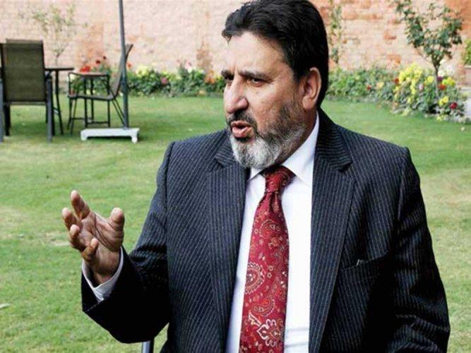 Former PDP leader and ex-finance minister of Jammu and Kashmir, Altaf Bukhari. (File Photo)