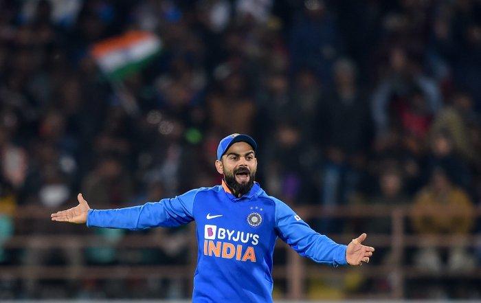Indian captain Virat Kohli. (PTI Photo)