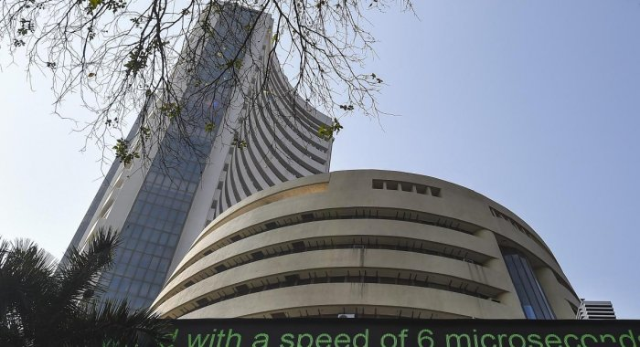 A view of BSE building in Mumbai. (PTI Photo)