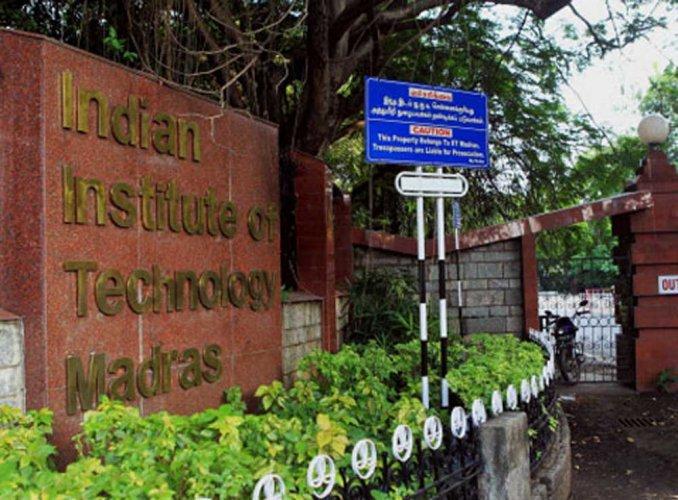 IIT Madras campus. (PTI Photo)