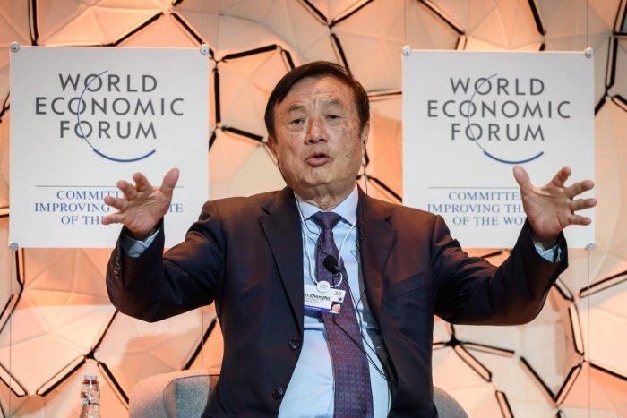 Huawei CEO Ren Zhengfei. (AFP photo)