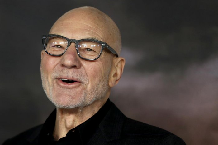 Sir Patrick Stewart plays the titular role in Picard. (Credit: Reuters photo/Simon Dawson)