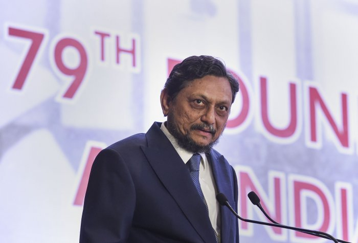 Chief Justice of India SA Bobde speaks at the 79th Foundation Day celebrations and All India Members' Conference of the Income Tax Appellate Tribunal, in New Delhi, Friday, Jan. 24, 2020. (PTI Photo)