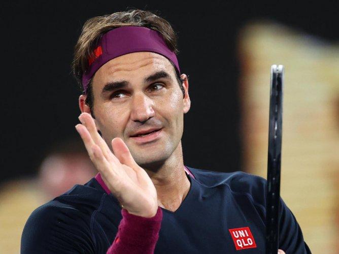 Roger Federer. (Reuters photo)