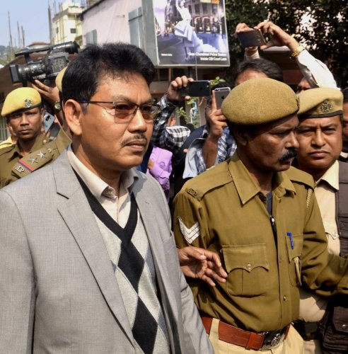 National Democratic Front of Bodoland (NDFB) chief Ranjan Daimary who was convicted in the 2008 Assam serial bomb blasts case. (DH File Photo/MANASH DAS)
