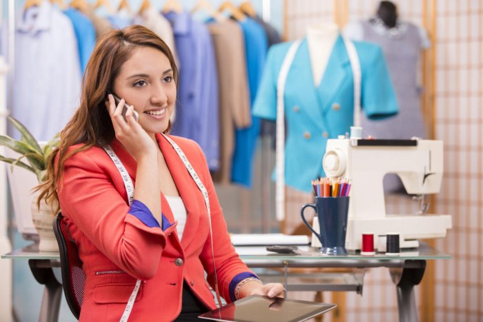 The key responsibility of a fashion designer is to set new trends.