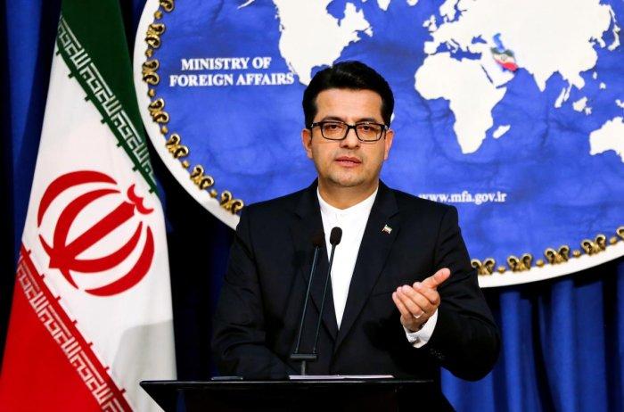 Abbas Mousavi, spokesman for Iran's Foreign Ministry. (AFP photo)