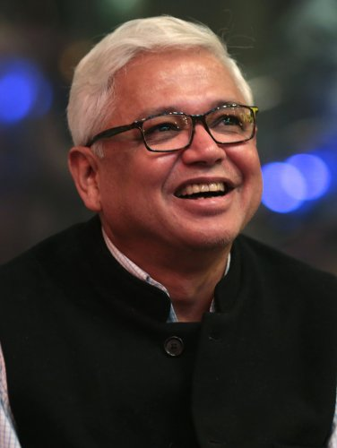 """""""Bengal delta happens to be one of the most vulnerable areas in the whole world in terms of facing the brunt of climate change. (If action is not taken), it will trigger large-scale migration,"""" he warned. (Twitter Photo/@GhoshAmitav)"""