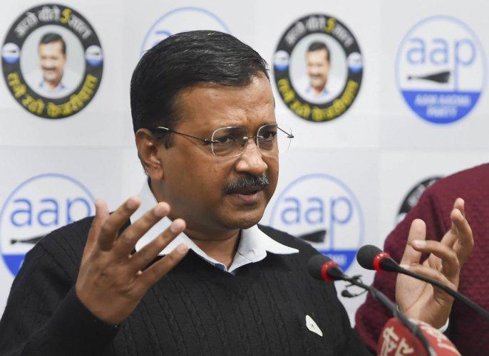 Delhi CM and AAP convenor Arvind Kejriwal. (PTI Photo)