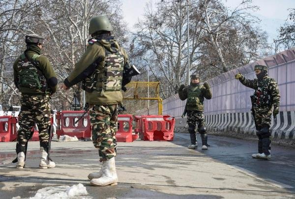 Besides, they said, all high-rise buildings around the Stadium have been occupied by sharpshooters of the police and paramilitary CRPF to prevent any untoward incident. (PTI Photo)
