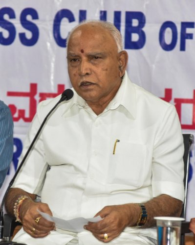 In the 34-member Cabinet, 16 berths are vacant and Yediyurappa is under immense pressure from ministerial aspirants, who include the newly-elected legislators - earlier with the Congress and the JD(S) as well as native BJP legislators.