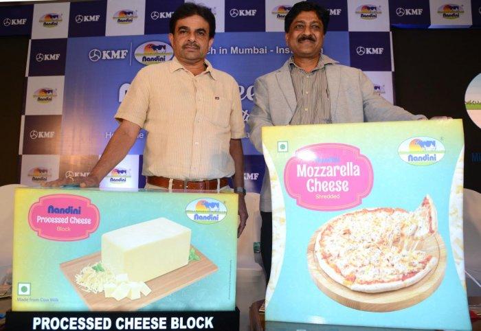 India's second largest Co-Operative milk brand, Nandini launched Nandini Cheese in Mumbai and Maharashtra-Institution market in the presence of B C Sathish, MD, Karnataka Milk Federation (KMF) and M T Kulkarni, Director (marketing) KMF in Mumbai.