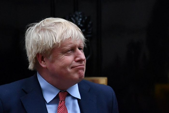 British Prime Minister Boris Johnson signed Britain's EU divorce agreement on Friday.